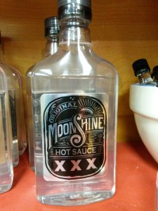 Moon Shine Hot Sauce - powerful stuff
